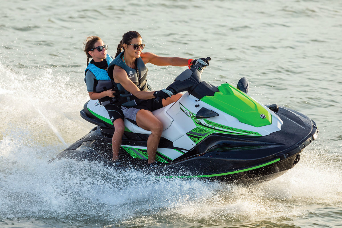 Yamaha WaterCraft had its best month on record in May.