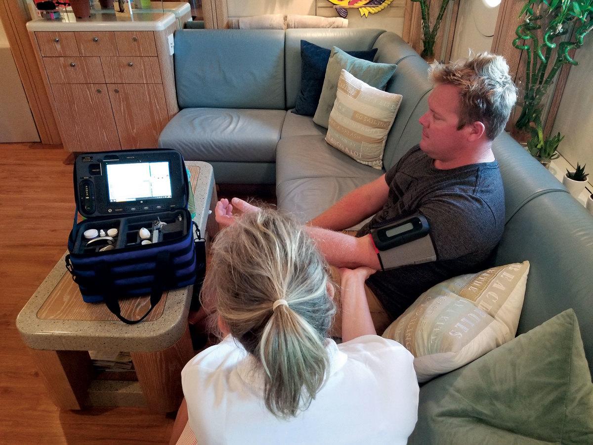 DigiGone calls its Five Plus kit a walk-in clinic at sea.
