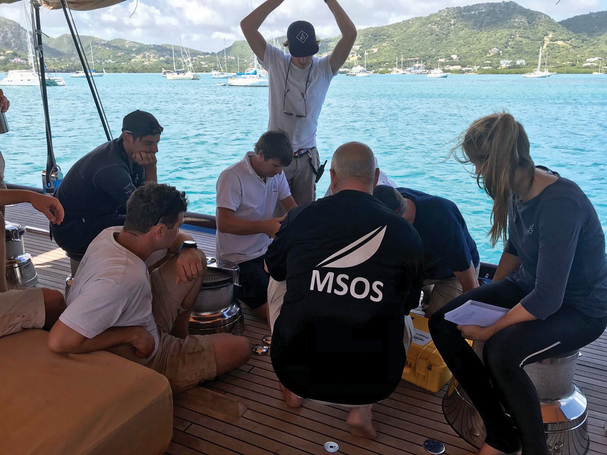 U.K.-based Medical Support Offshore provides clients with training seminars.