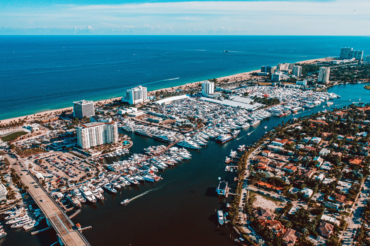 Organizers of the Fort Lauderdale International Boat Show say the event will be held, barring a government order.
