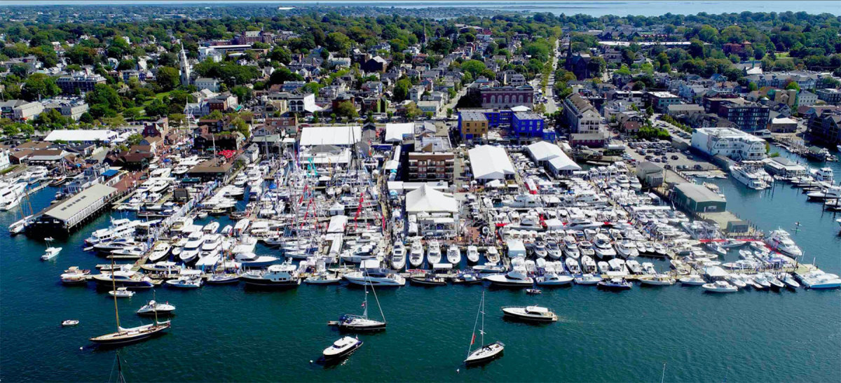 The Newport International Boat Show was was the first major fall show in the U.S. to be canceled.