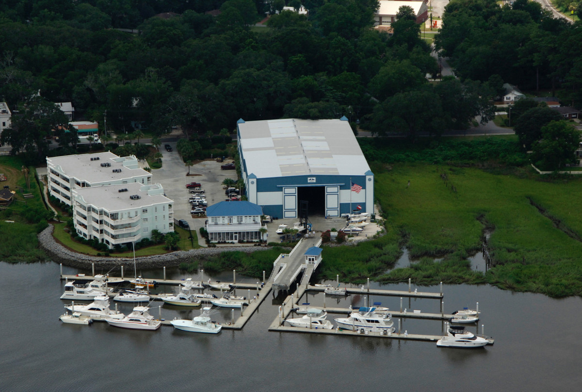 The Bahia Bleu Morningstar Marina is located in Savannah, Ga.