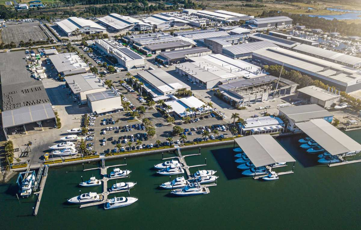 Riviera's Gold Coast facility is the largest of its kind in the Southern Hemisphere