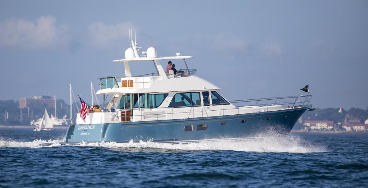Hunt's Ocean 63 launched earlier this year.