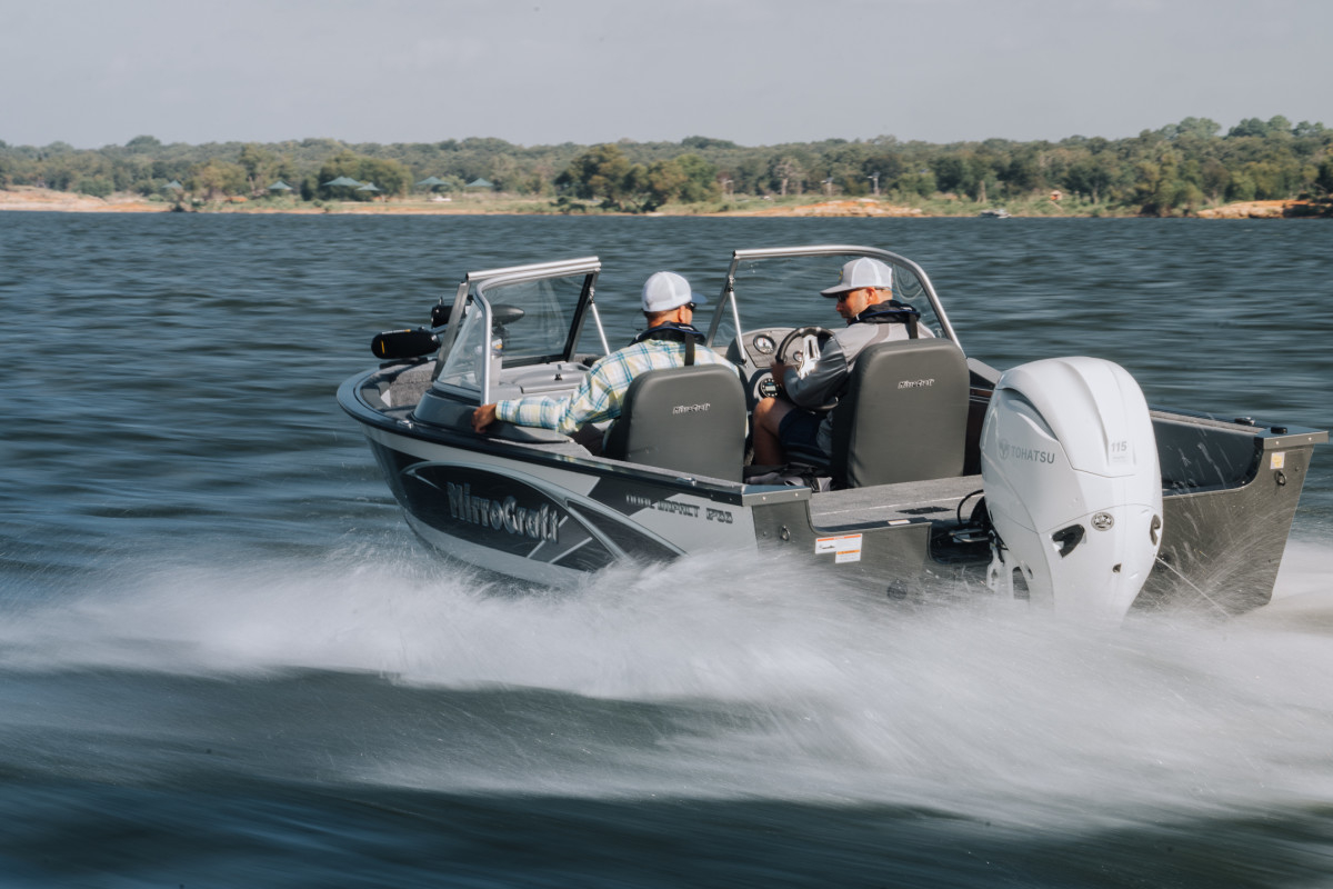The 115 is the largest of the MFS outboards.