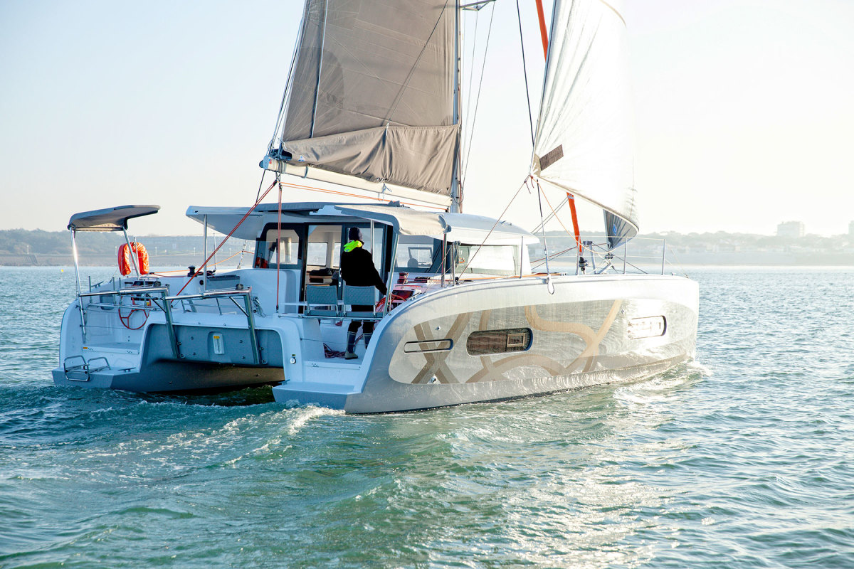 Girotti sees Excess Catamarans as a formidable challenger  to brand leaders in the  cruising multihull market.