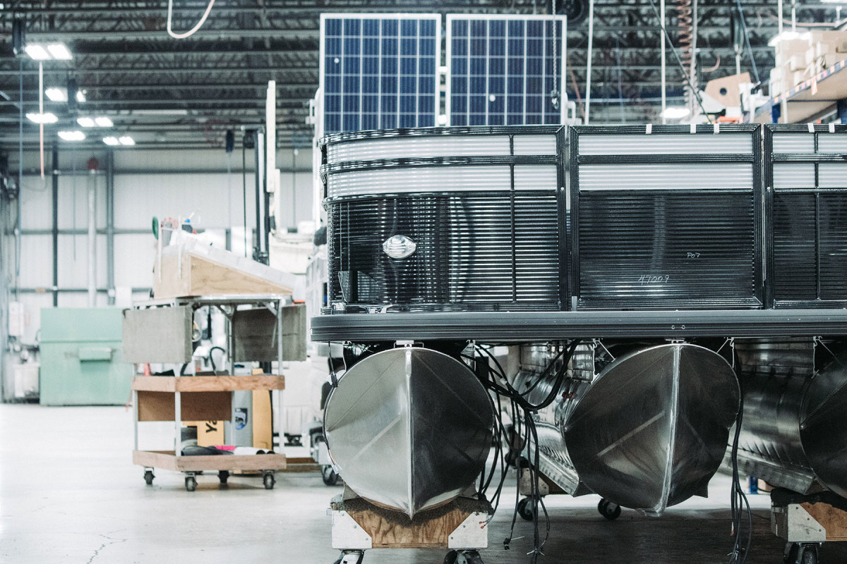 While Nautique uses 3-D printing to some extent, industry stakeholders say standard boatbuilding techniques won't be completely replaced by robotics any time soon.