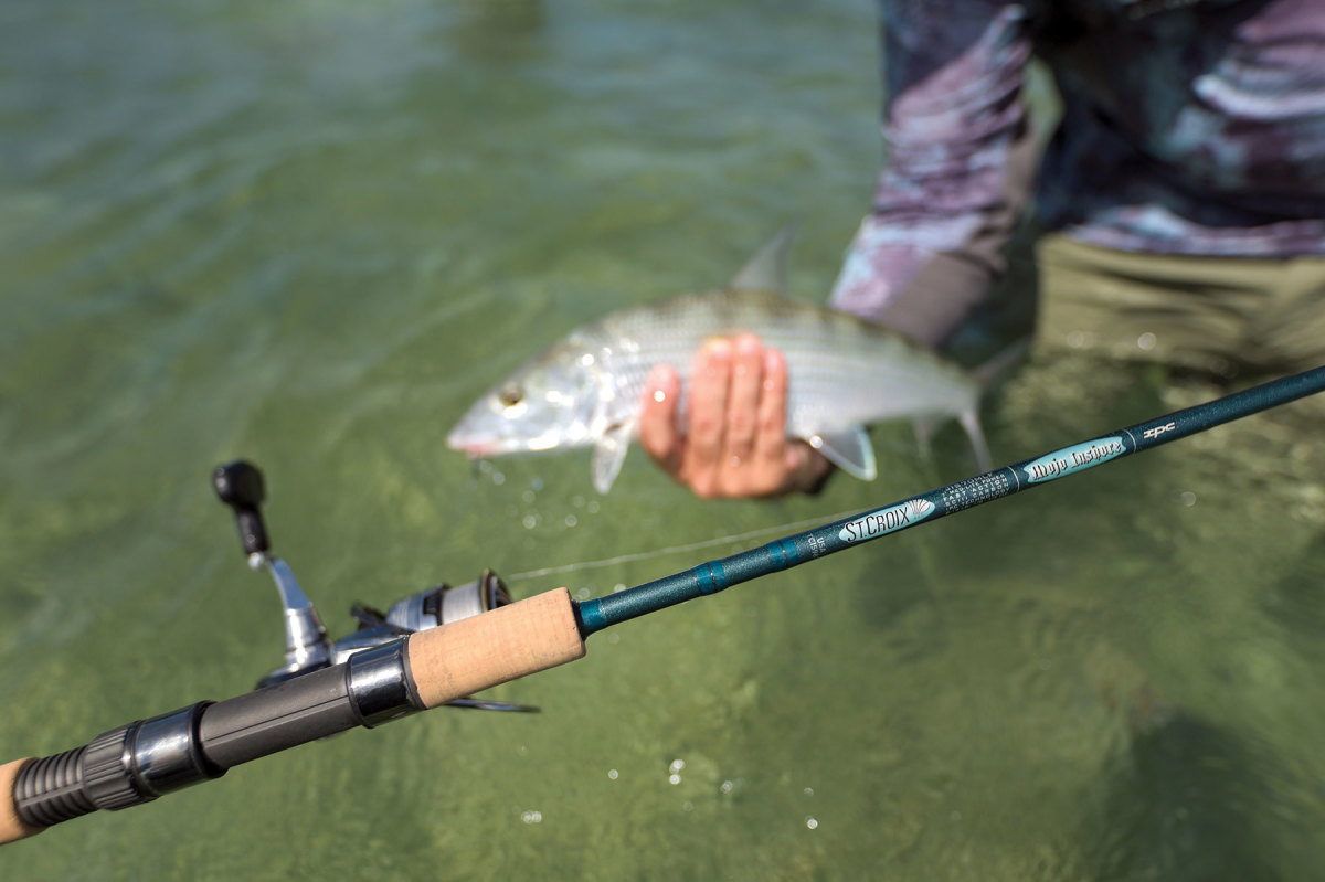 St. Croix Rods took the award for best saltwater rod at ICAST with its Mojo Inshore.