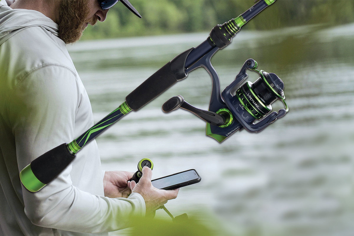 Anglr, Lowrance and Abu Garcia collaborated on a virtual casting combo that can plan, record and relive experiences.