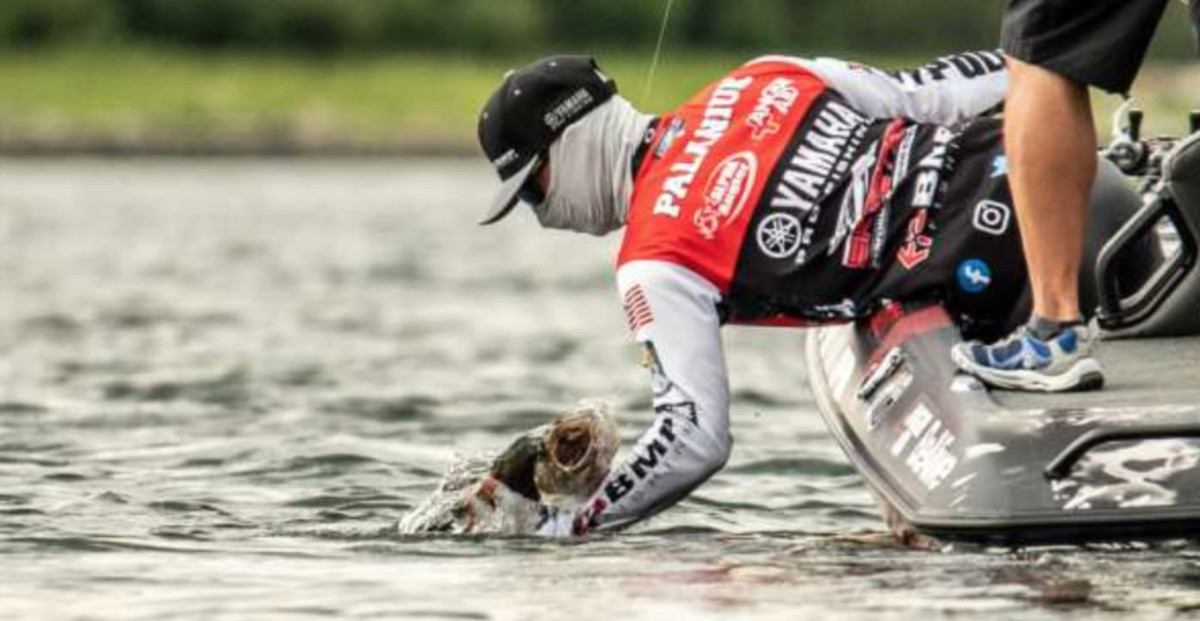 Pro angler Brandon Palaniuk came from behind to win the recent Bassmaster Elite at Lake Champlain.