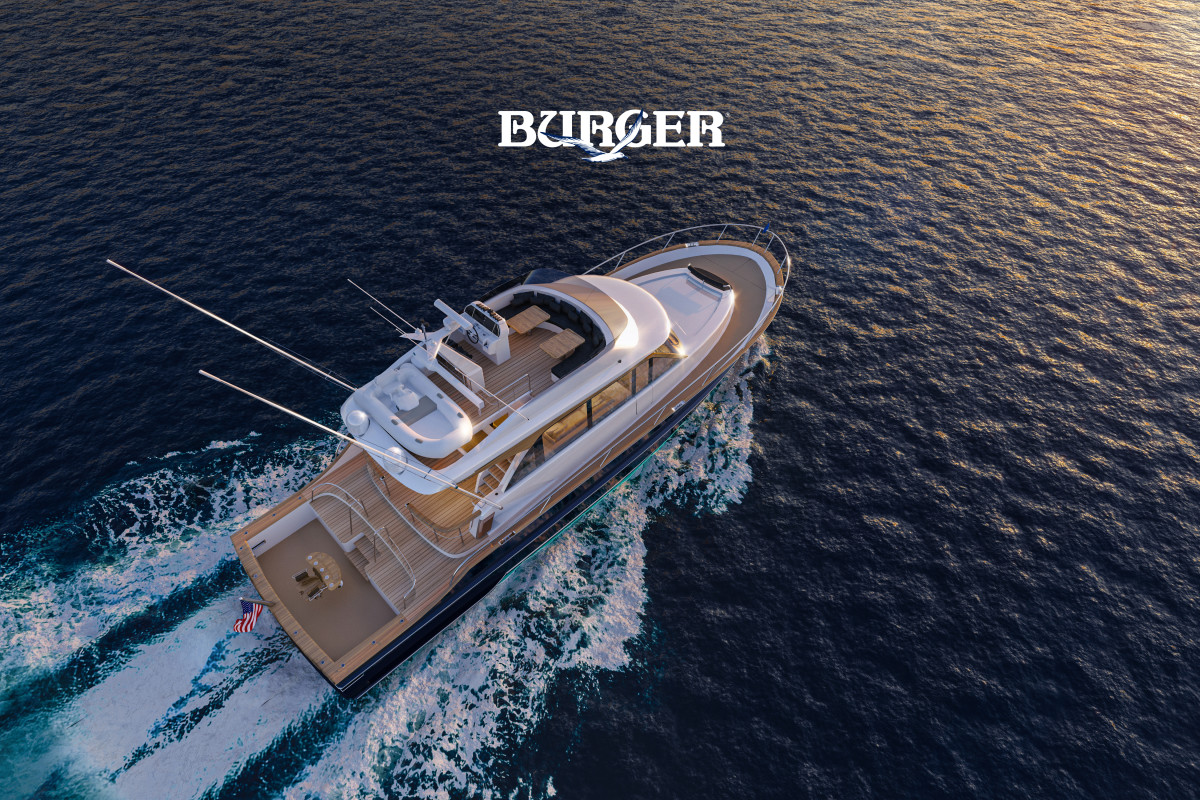 Burger says the 63 is the ideal combination of sportfishing and luxury.