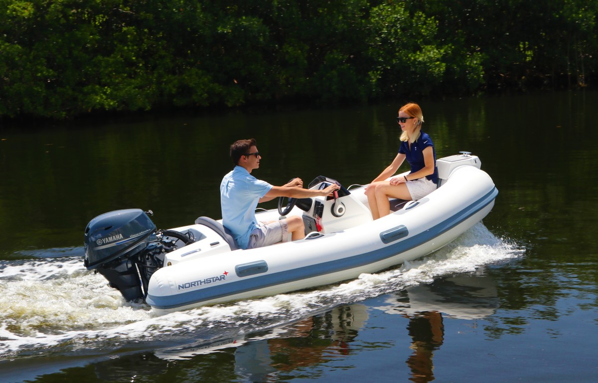 The Axis 11 foot, 2-inch tender. The Axis line includes six models from 10 feet, 2 inches to 17 feet, 5 inches.