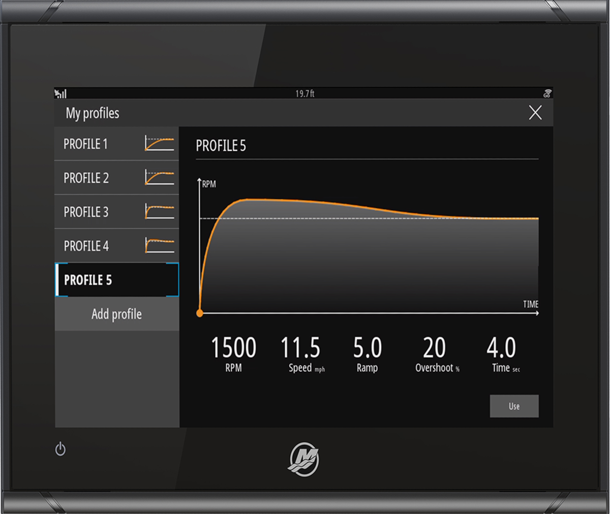 The updated Smart Tow user interface.