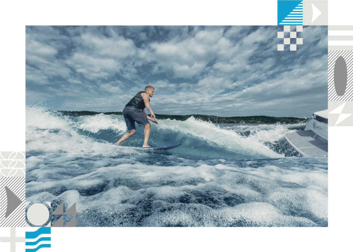 The water sports segment is a popular beneficiary of Volvo Penta's Forward Drive.