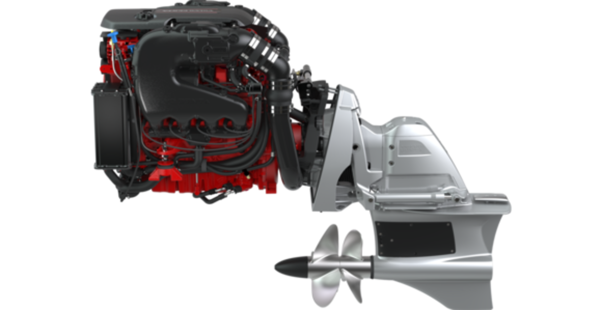 The 6.2-liter, 430-hp gasoline powerplant is the largest offering in Volvo Penta's Forward Drive range.