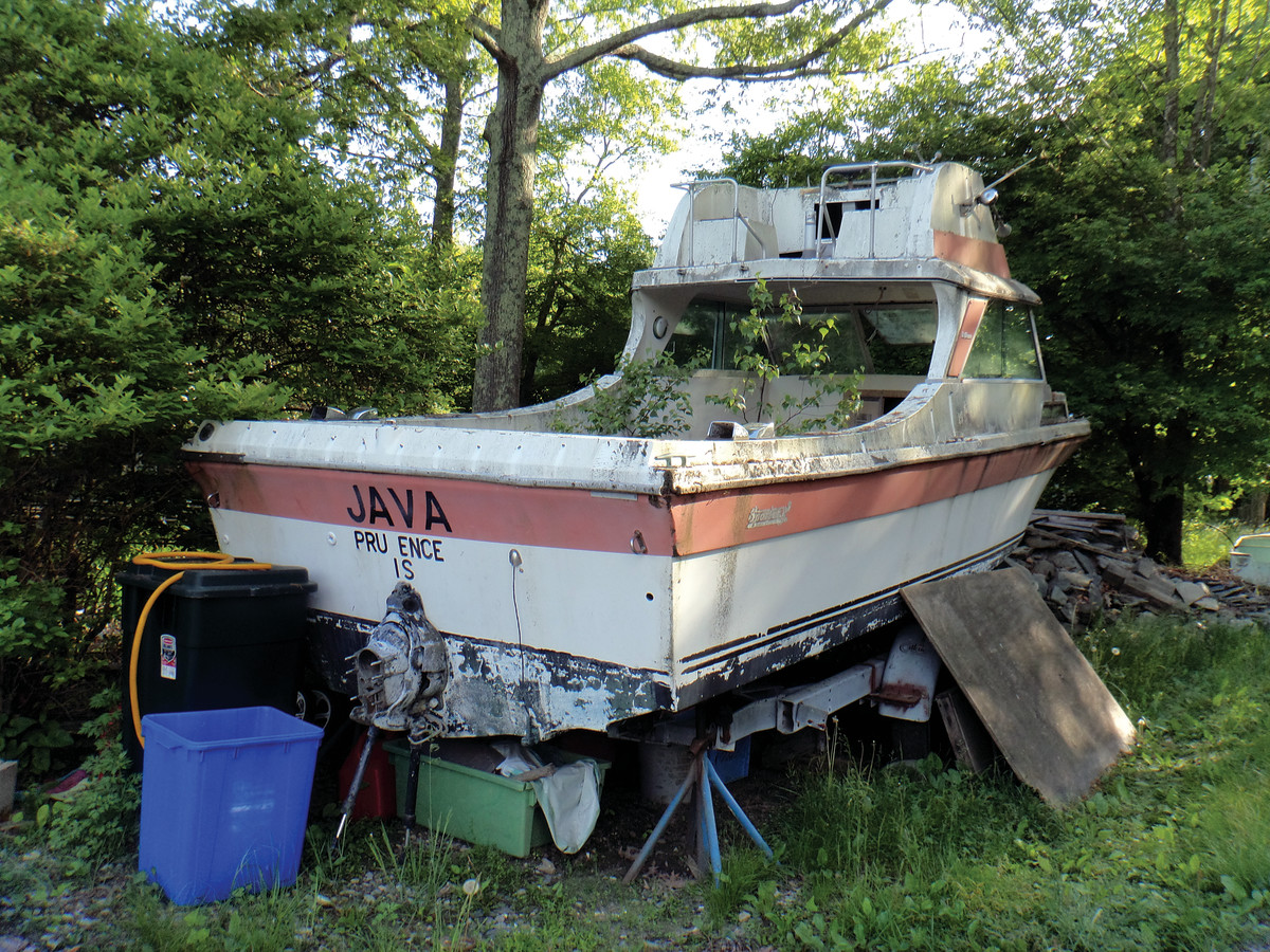 Boat owners and builders have limited options for responsible disposal of end-of-life vessels.