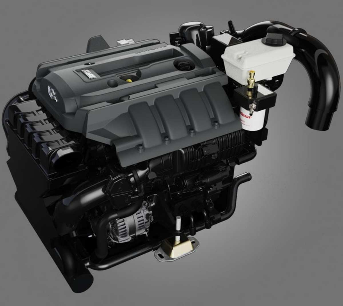 Indmar's 2.3L EcoBoost engine.