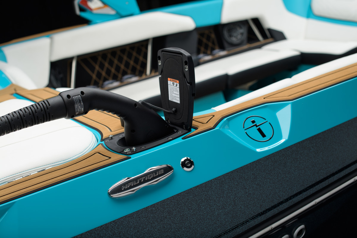 The boat is good for two to three hours of water sports usage on a full charge.