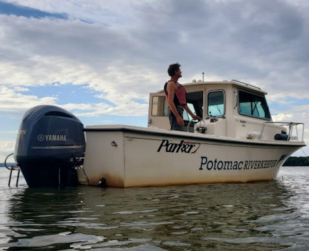 With support from Yamaha Rightwaters, the Potomac River Keeper Network can continue pollution surveillance and water sampling on the Potomac River.