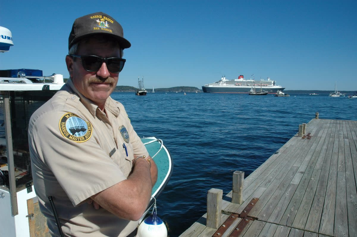 Charlie Phippen is the harbormaster at Bar Harbor, Maine.