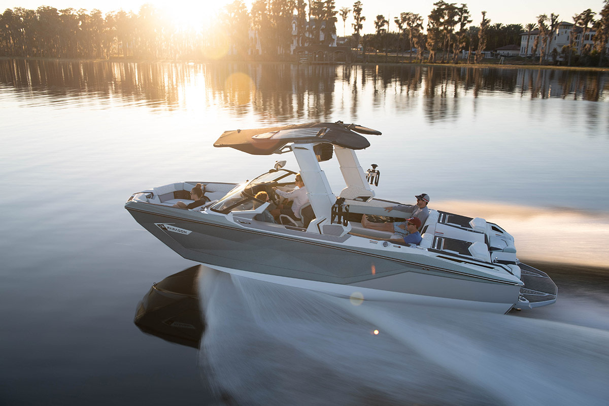 Nautique's Super Air G25 Paragon. The Correct Craft brand will represent the builder at the White House.