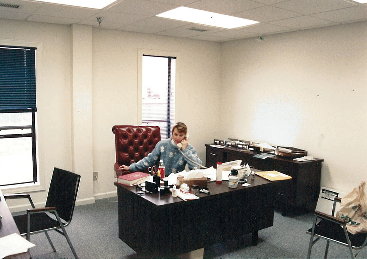 Maxwell in her office at Regulator Marine.