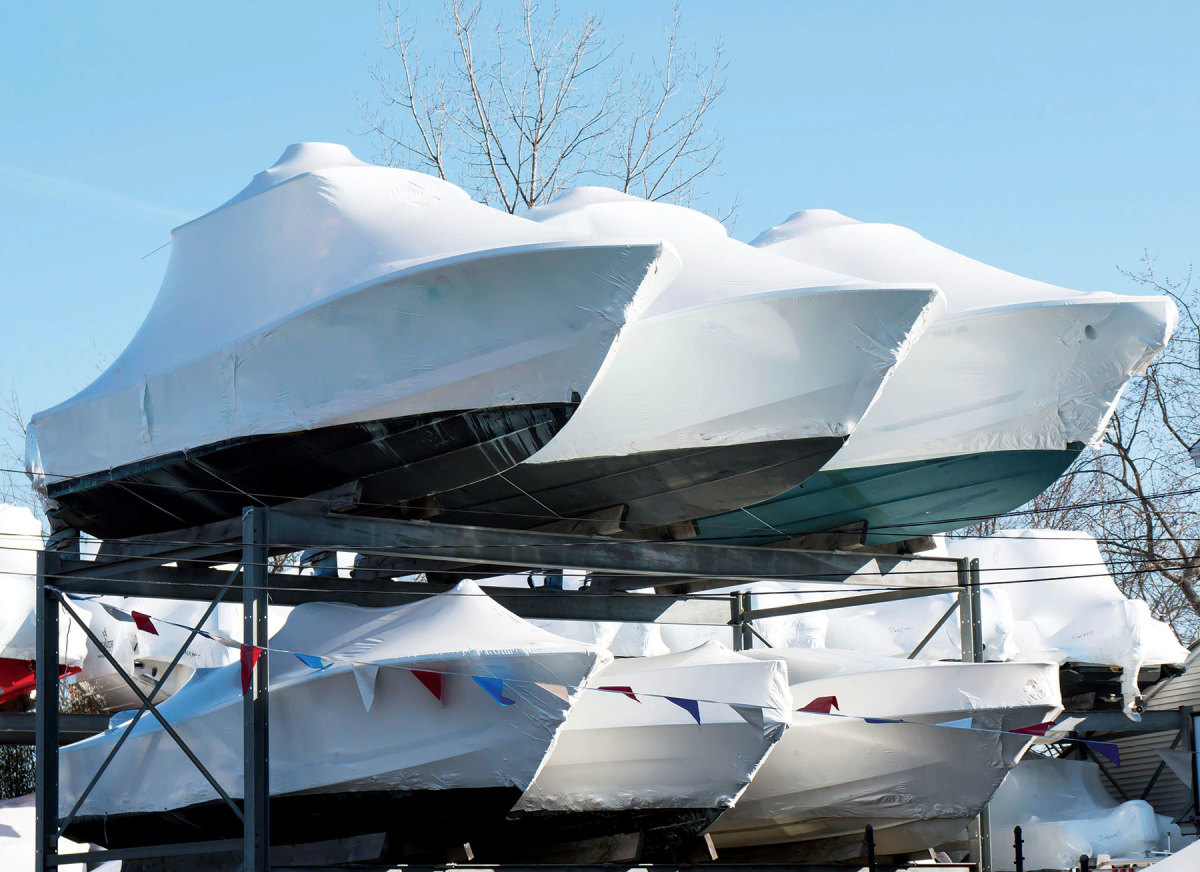 A glut of new-boat sales has led to a 32 percent spike in antifreeze sales for winterizations.