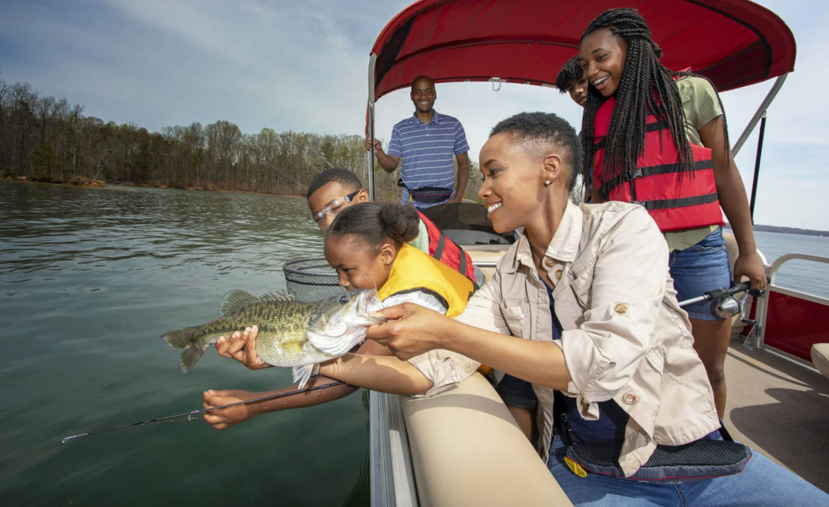 Families are flocking to  online content that shows them how to fish and boat without being an owner.