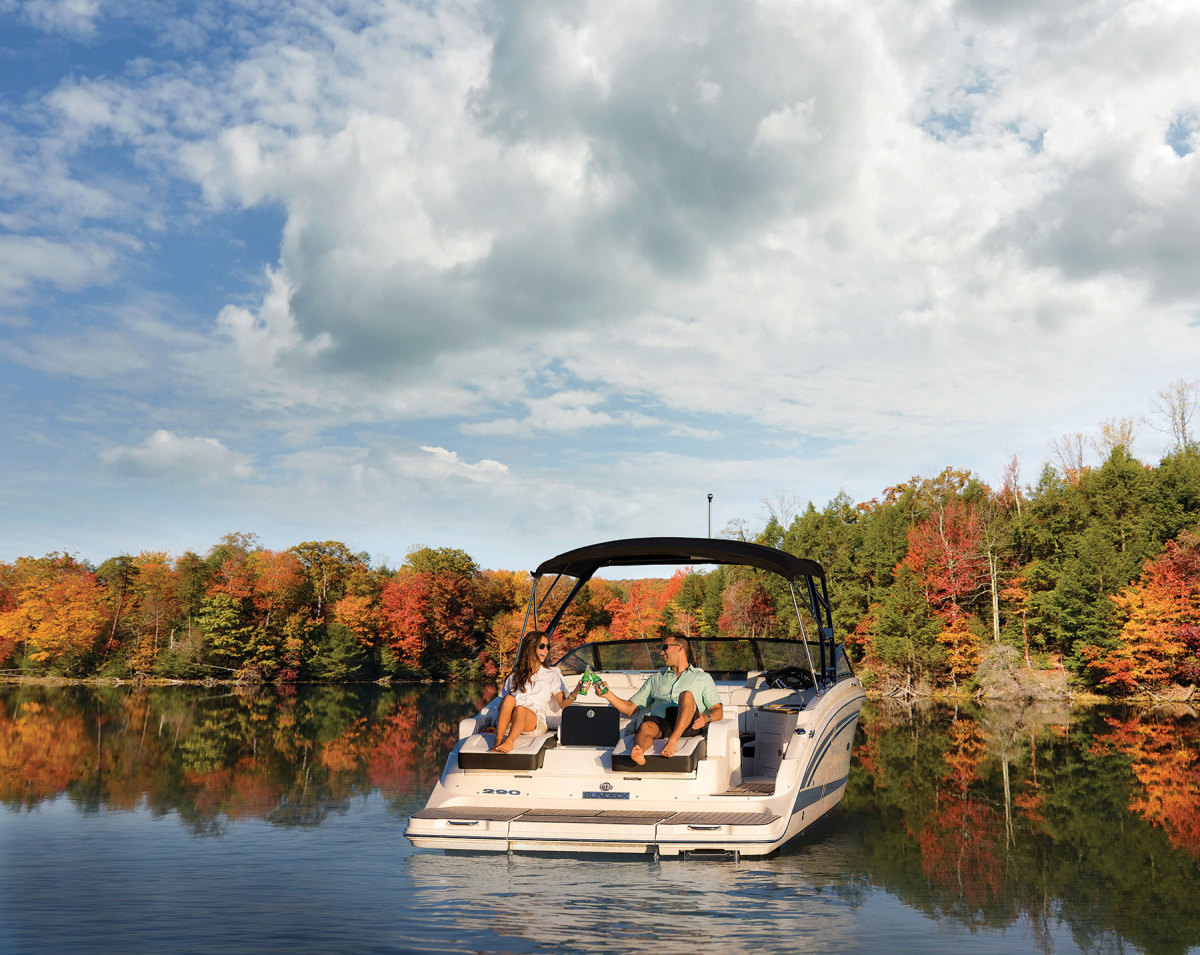 With many parents and students working remotely, some predict boating will last well into fall.