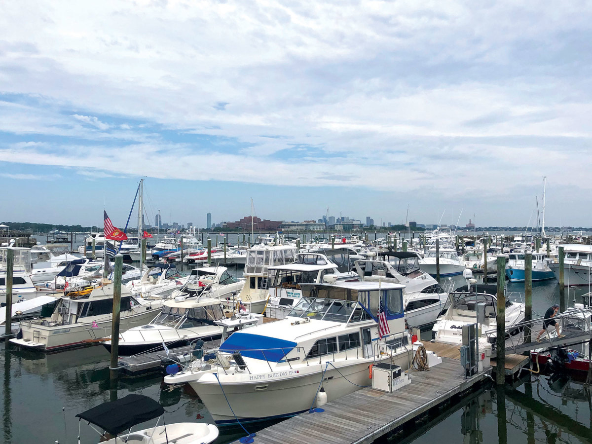 Freedom Boat Club in Quincy, Mass., is among those that have frantically searched for new boats to meet growing demand.