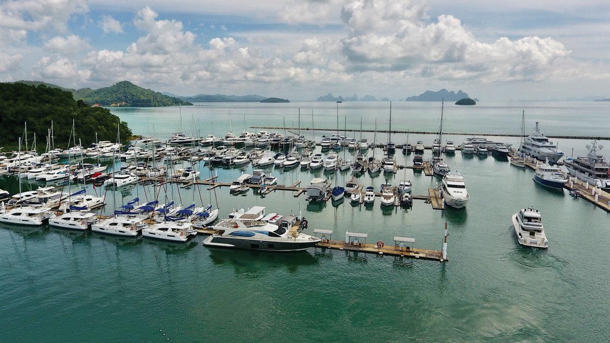 Ao Po Grand Marina, on Phang NgaBay in Phuket, Thailand, is an Asianhub for Northrop & Johnson.