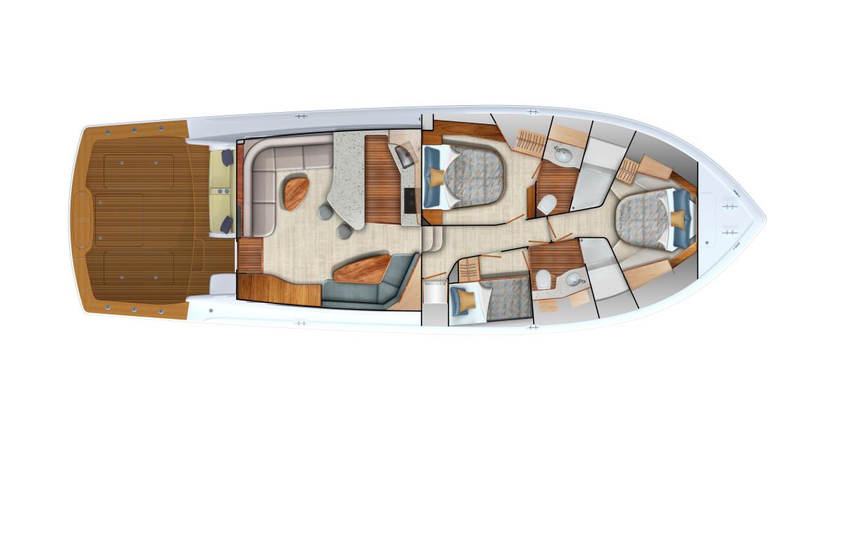 3_Viking54 C Accomms Interior Qn