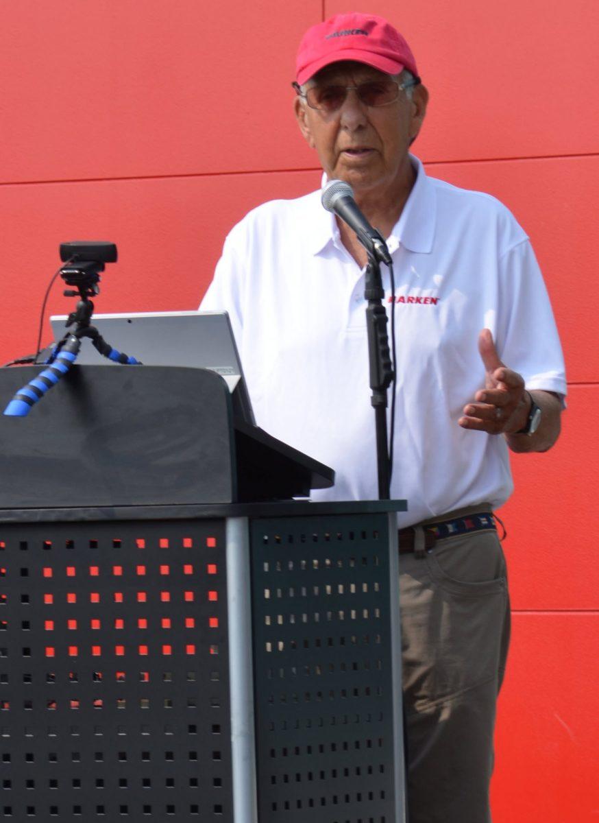 Company founder Peter Harken.