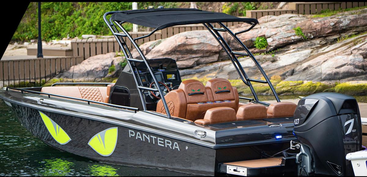 3 pantera center console