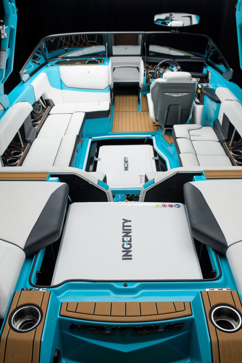 Nautique's all-electric Super Air Nautique GS22E was one of several reasons Correct Craft were honored with the top spot.