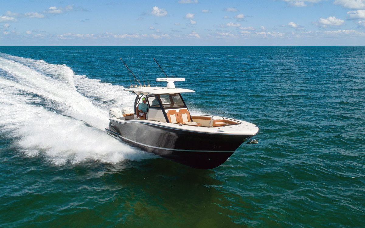 """The 330 LXF is a new model """"that stands on its own,"""" Steve Potts says."""
