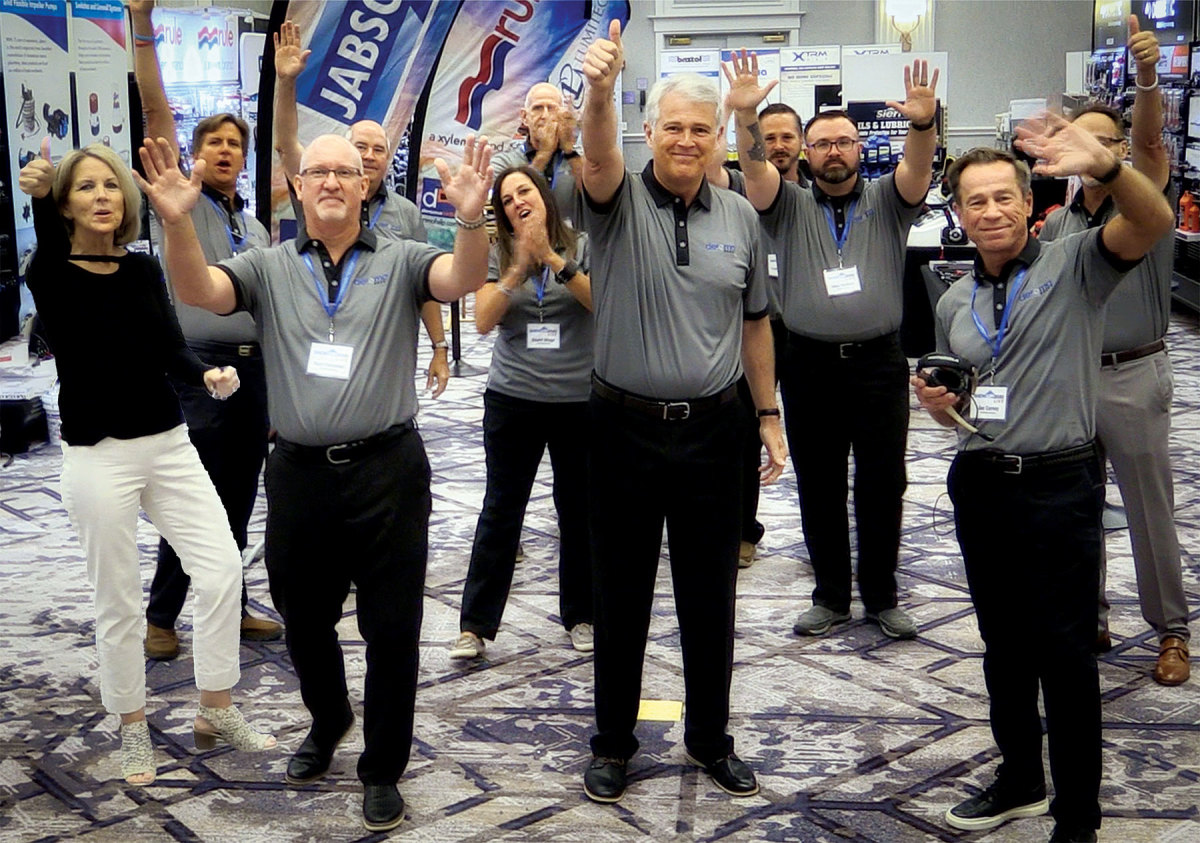 The marine and RV rep's one-day virtual show SHOWUP2020 Live! was a rousing success.