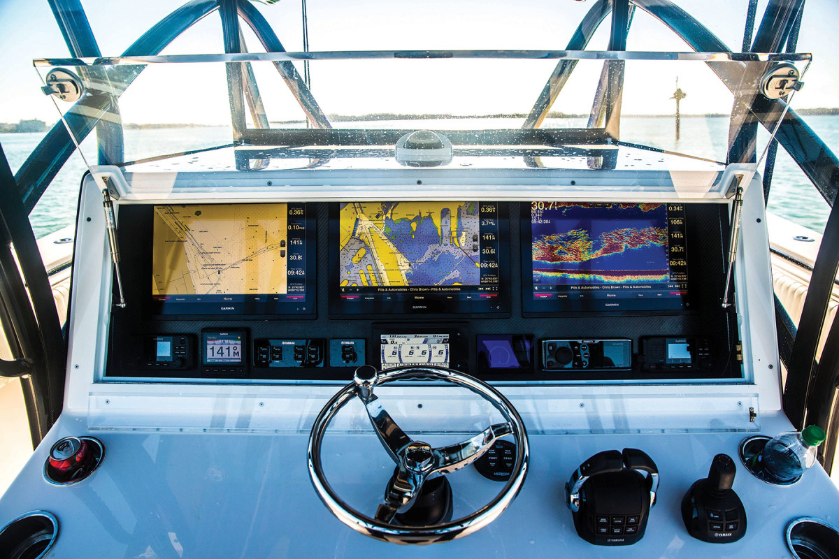 Garmin continued to refine its glass bridge MFDs and its wearables, including the quatix 6 marine smartwatches.