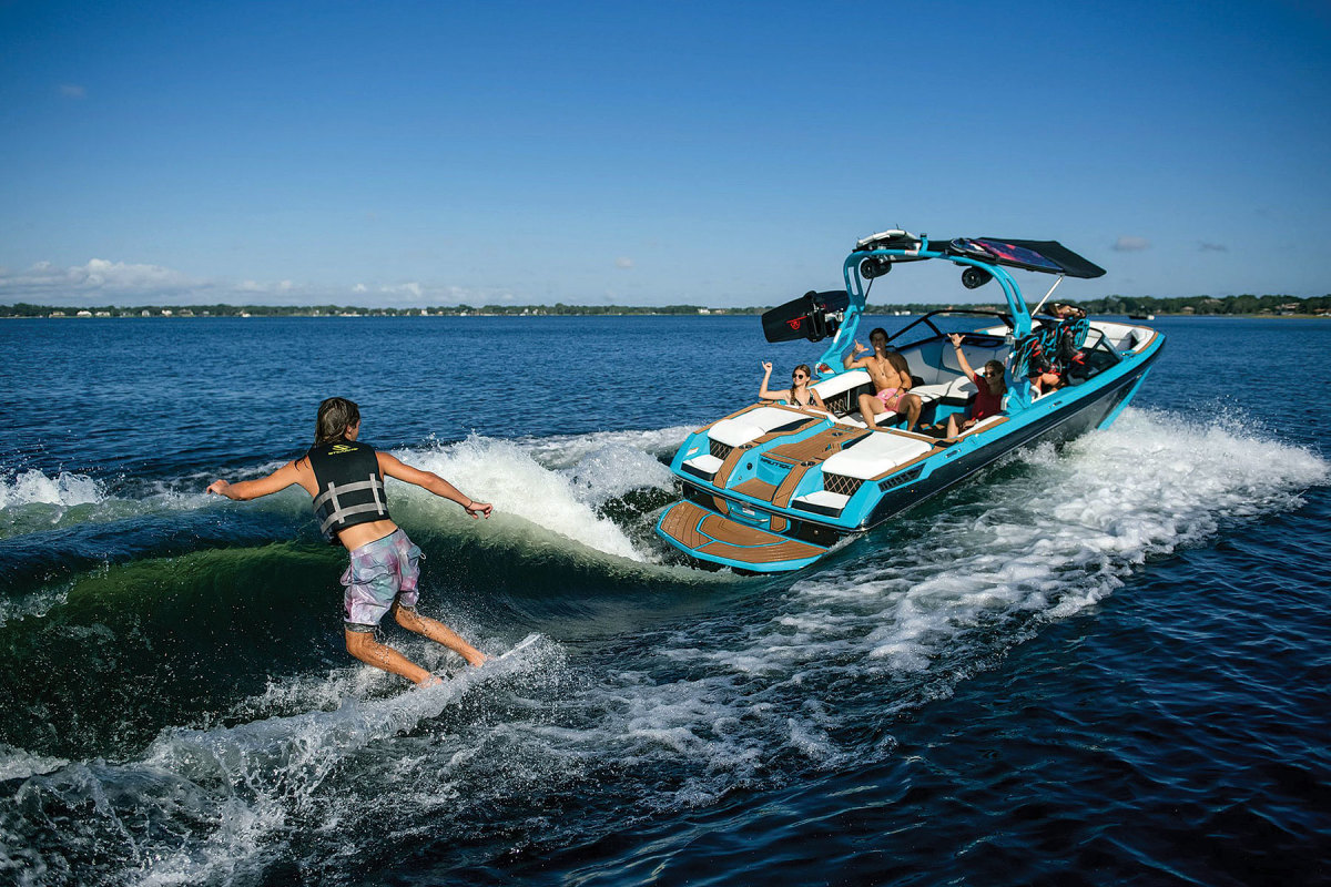 The year's highlights for Correct Craft include the launch of its electric wake-sports boat, continued debuts of new models, and events such as Promote Your Passion, which raises money for charitable organizations.