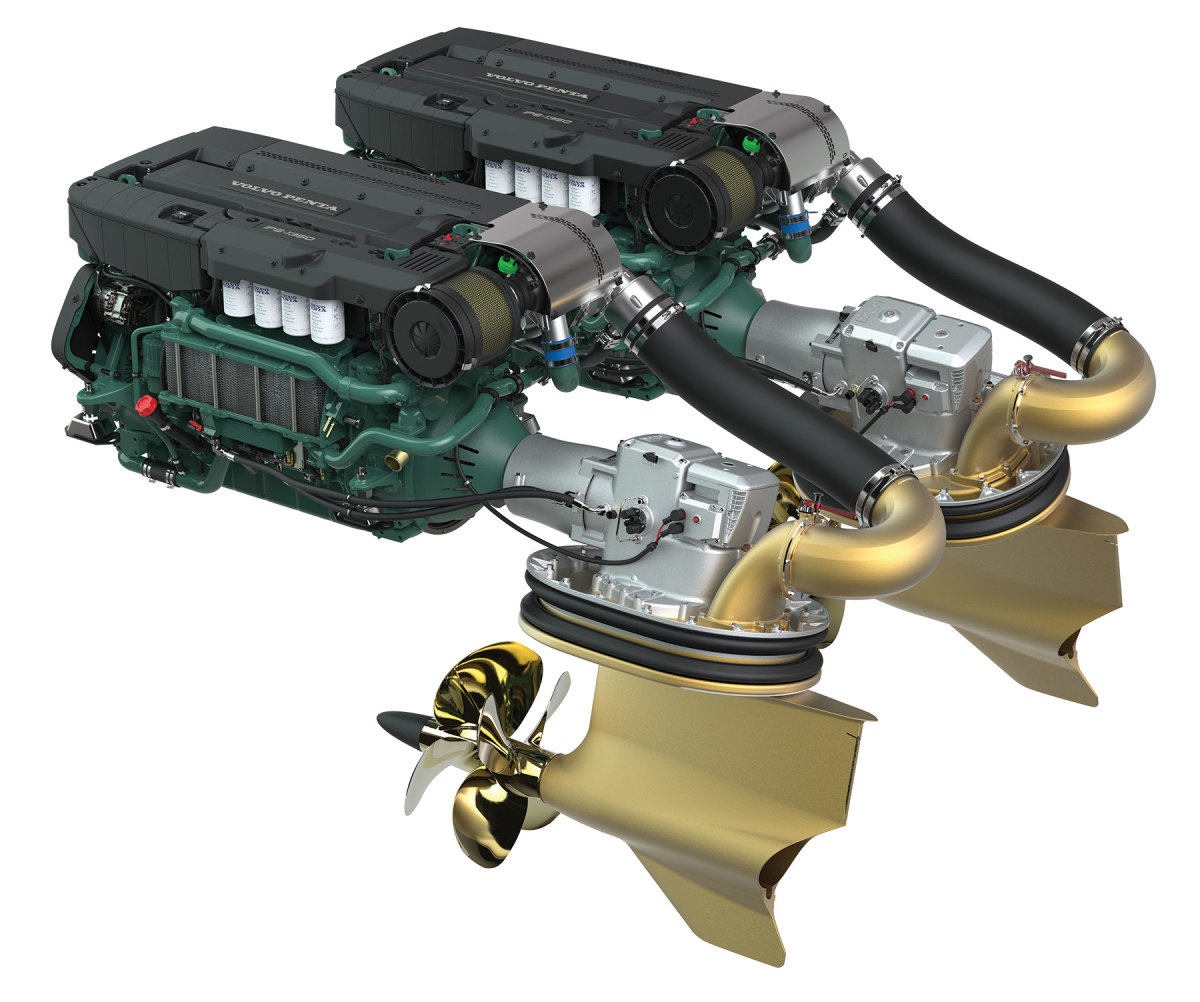 The company's forward-facing IPS pod drives, matched to joystick controls, changed marine propulsion when they debuted in the mid-2000s.