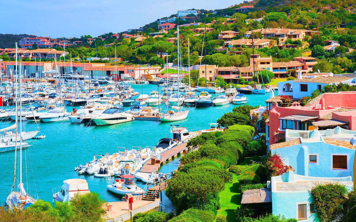 Porto Cervo on Sardinia was busy all summer.