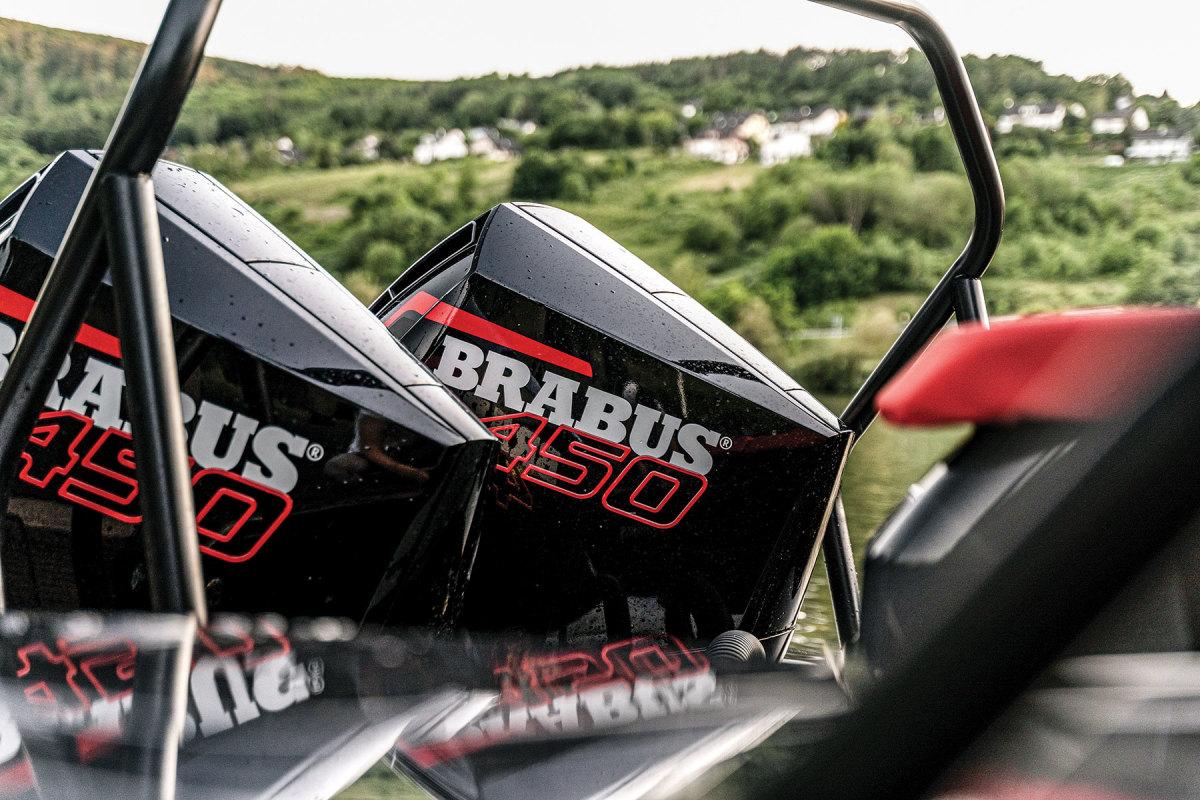 Mercury Racing 450s on the Shadow 900 get the Brabus badge