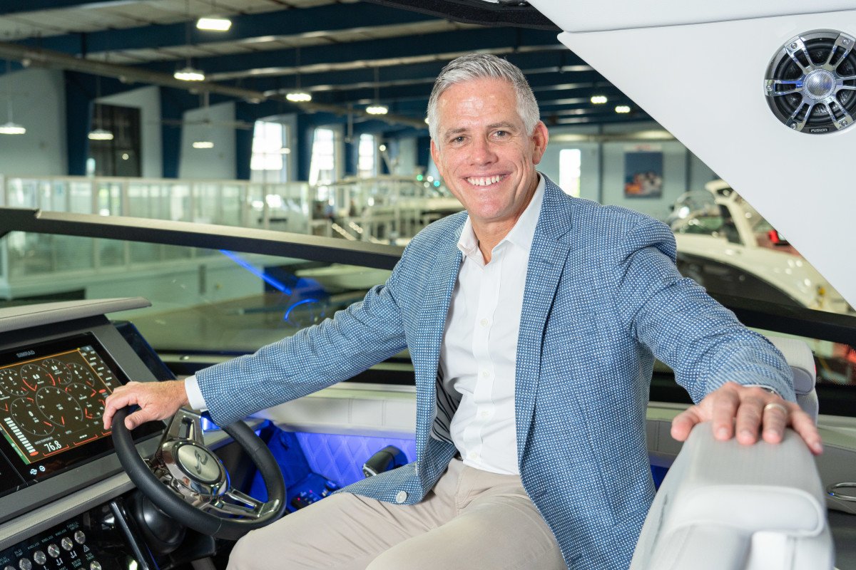 MarineMax president and CEO Brett McGill.