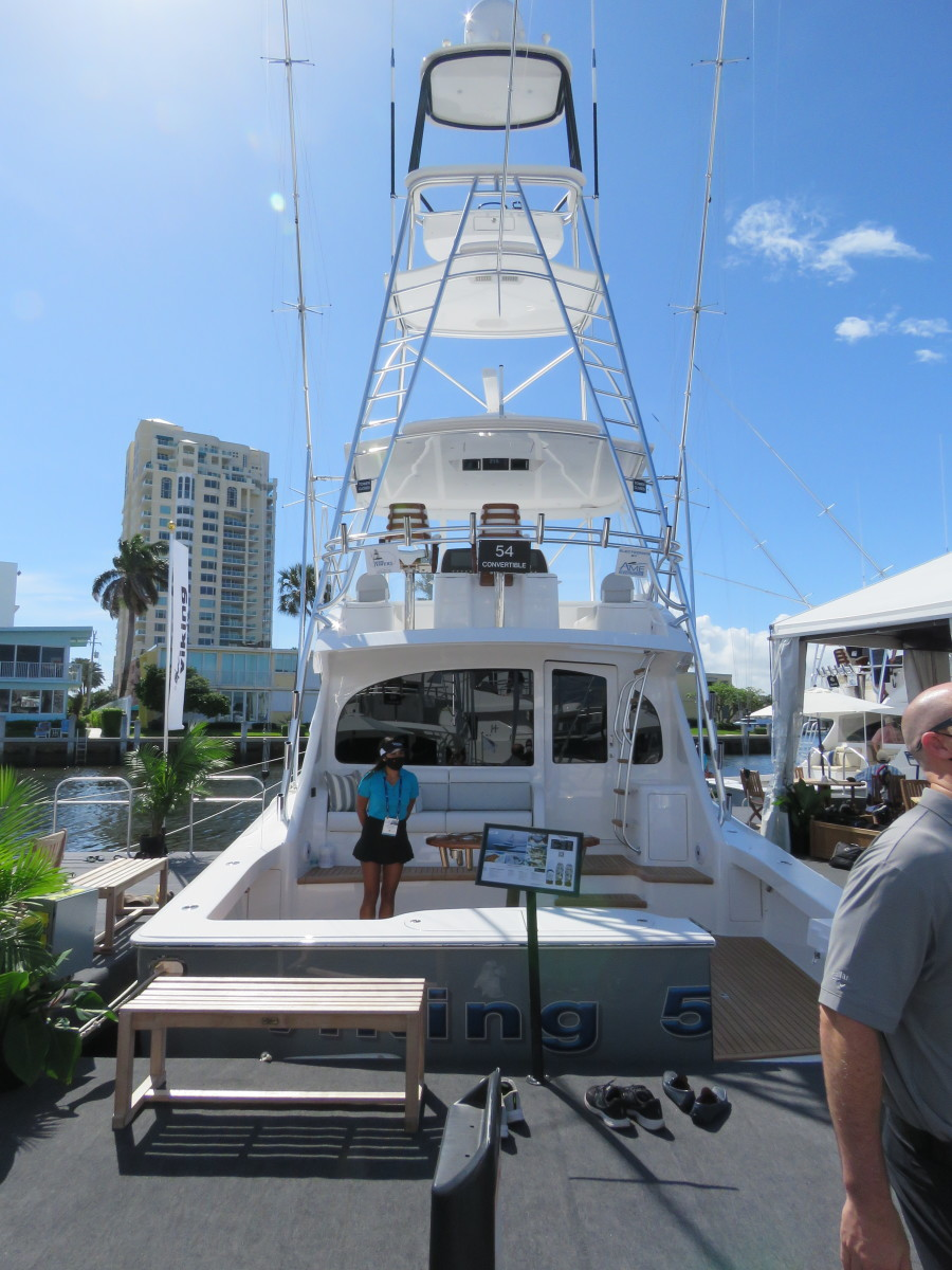 Viking Yachts expects steady traffic to see its lineup, including the new 54 Convertible.