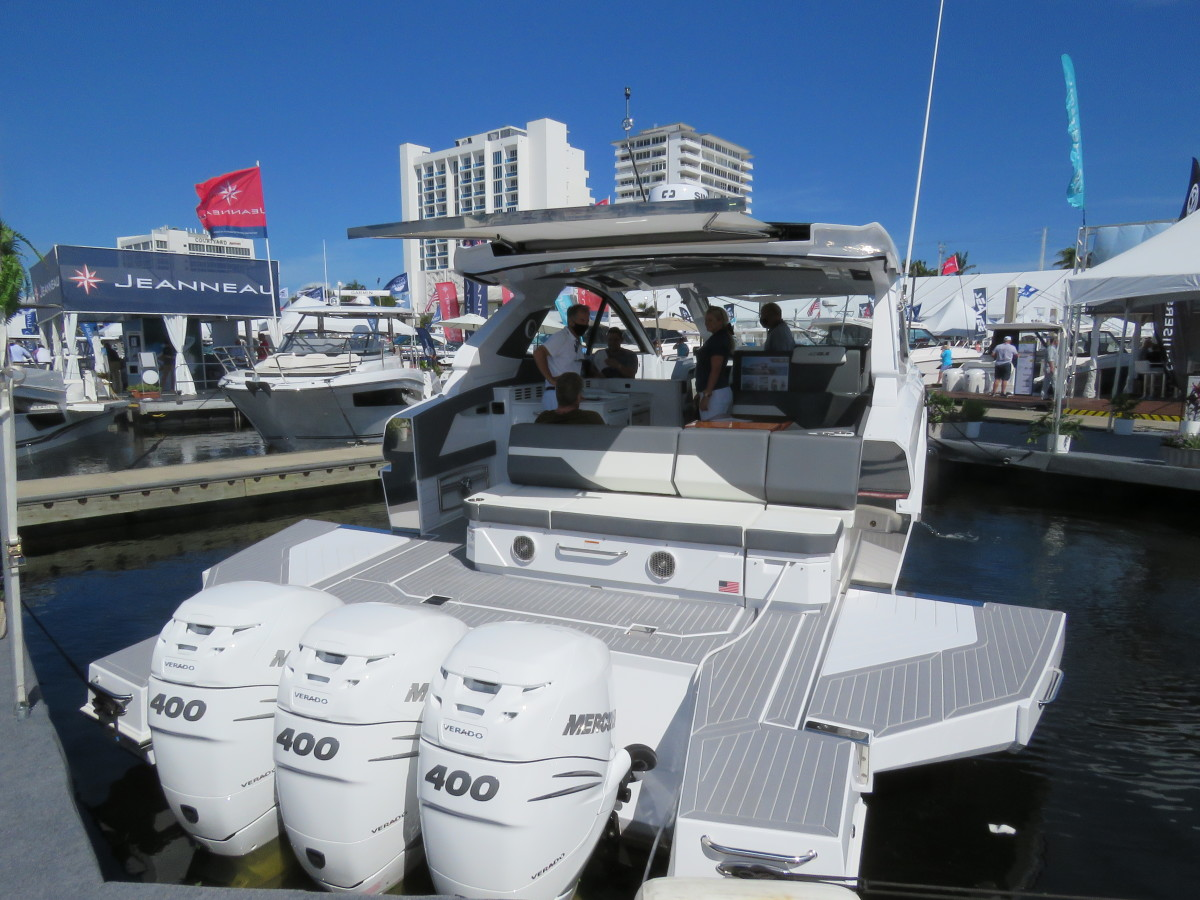 Cruisers 42 GLS is making its debut at FLIBS.
