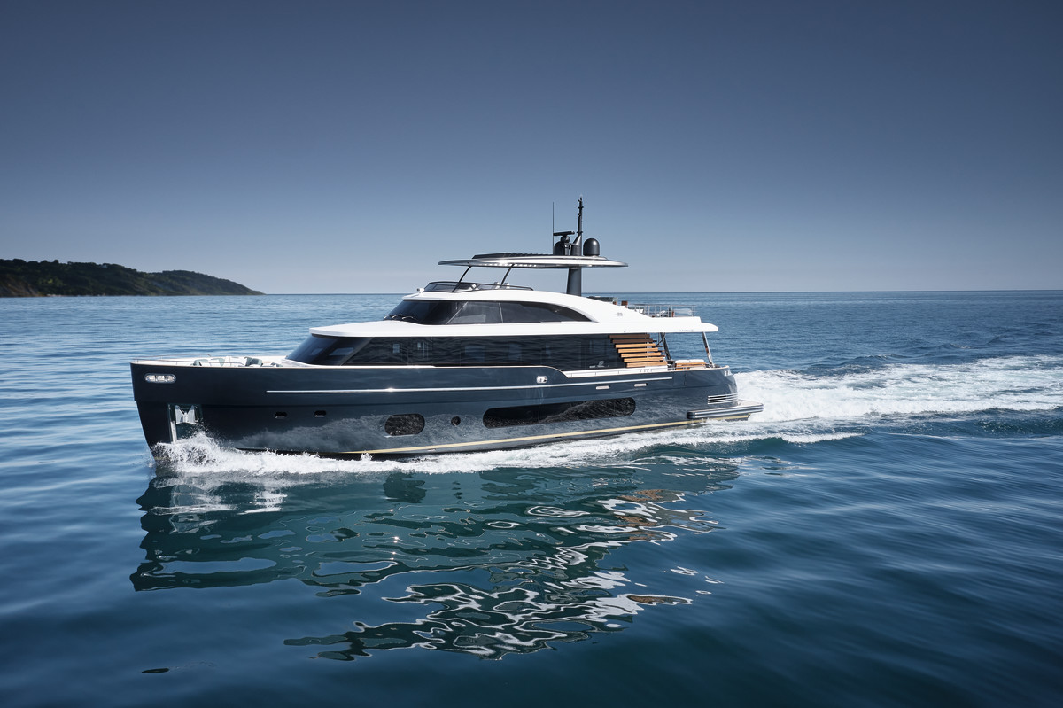 Azimut's Magellano 25 Metri is being unveiled at this year's event.