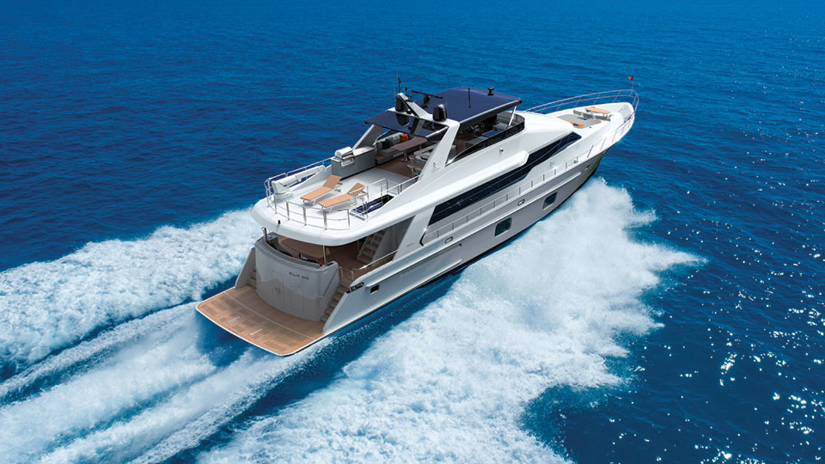 The CLB88 is the new flagship from the Hong Kong-based builder.