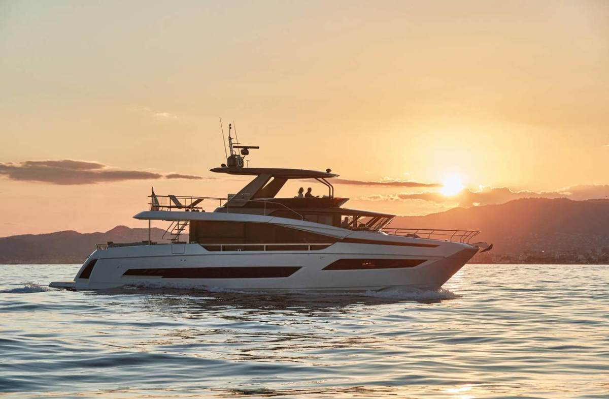 Prestige's X70 is the debut model from the its new motoryacht line.