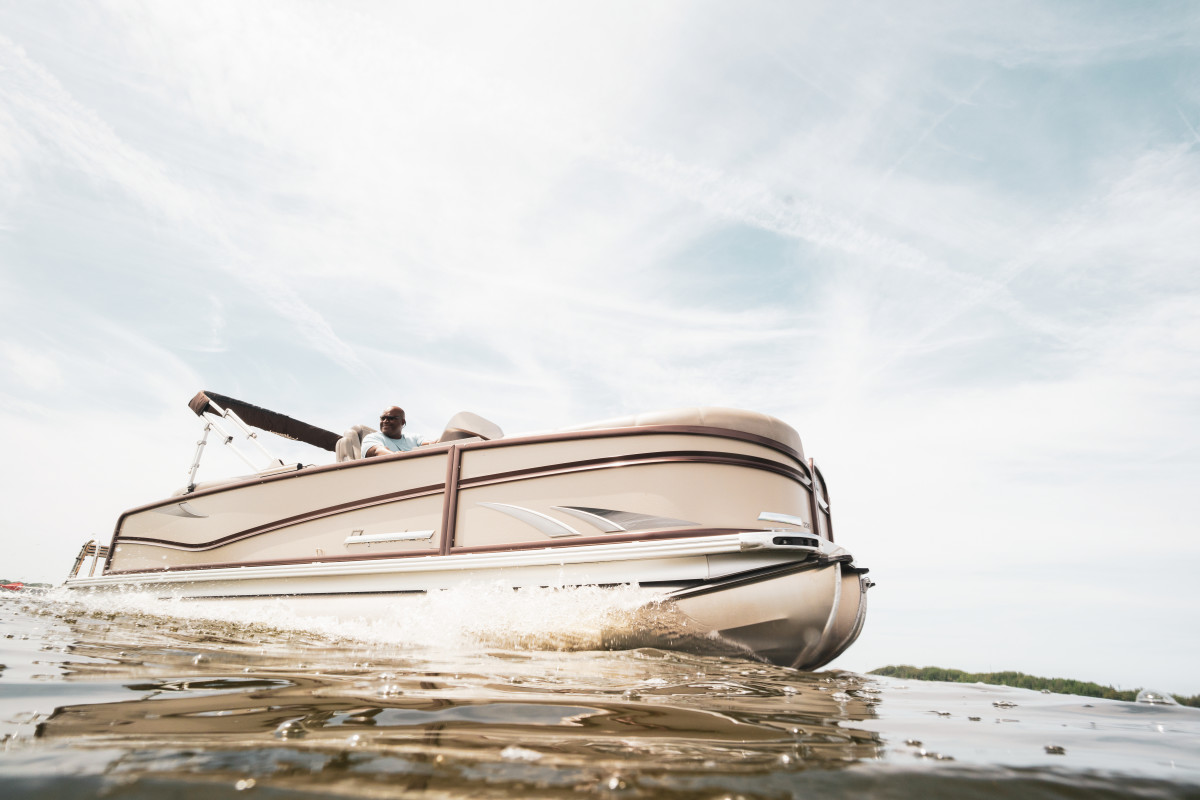 Pontoons saw double digit increases in the month.