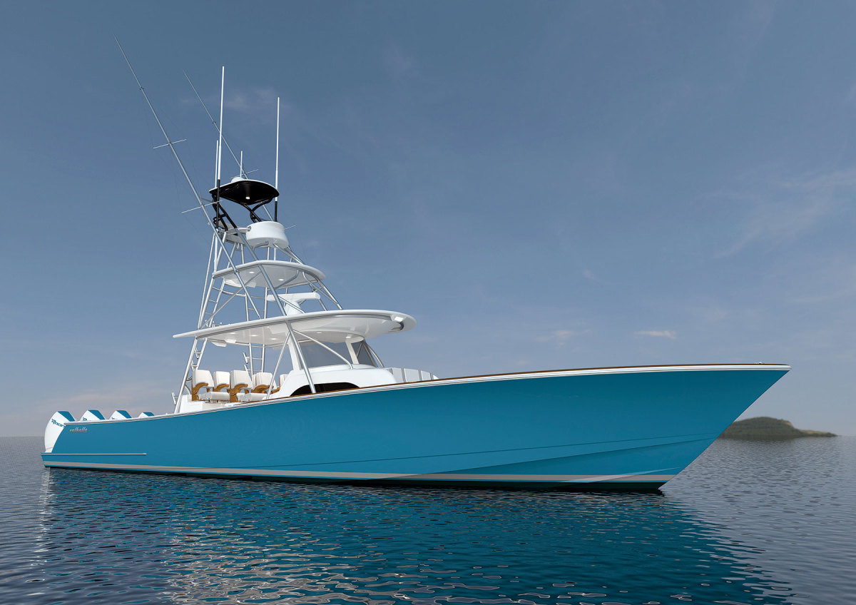 The Valhalla Boatworks V-46 will debut in January